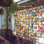 Для дома и интерьера handmade. Livemaster - original item patchwork curtains