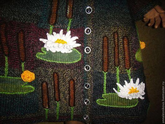 """Верхняя одежда ручной работы. Ярмарка Мастеров - ручная работа. Купить Платье-пальто """"Омут"""" -2. Handmade. Вязаное пальто"""