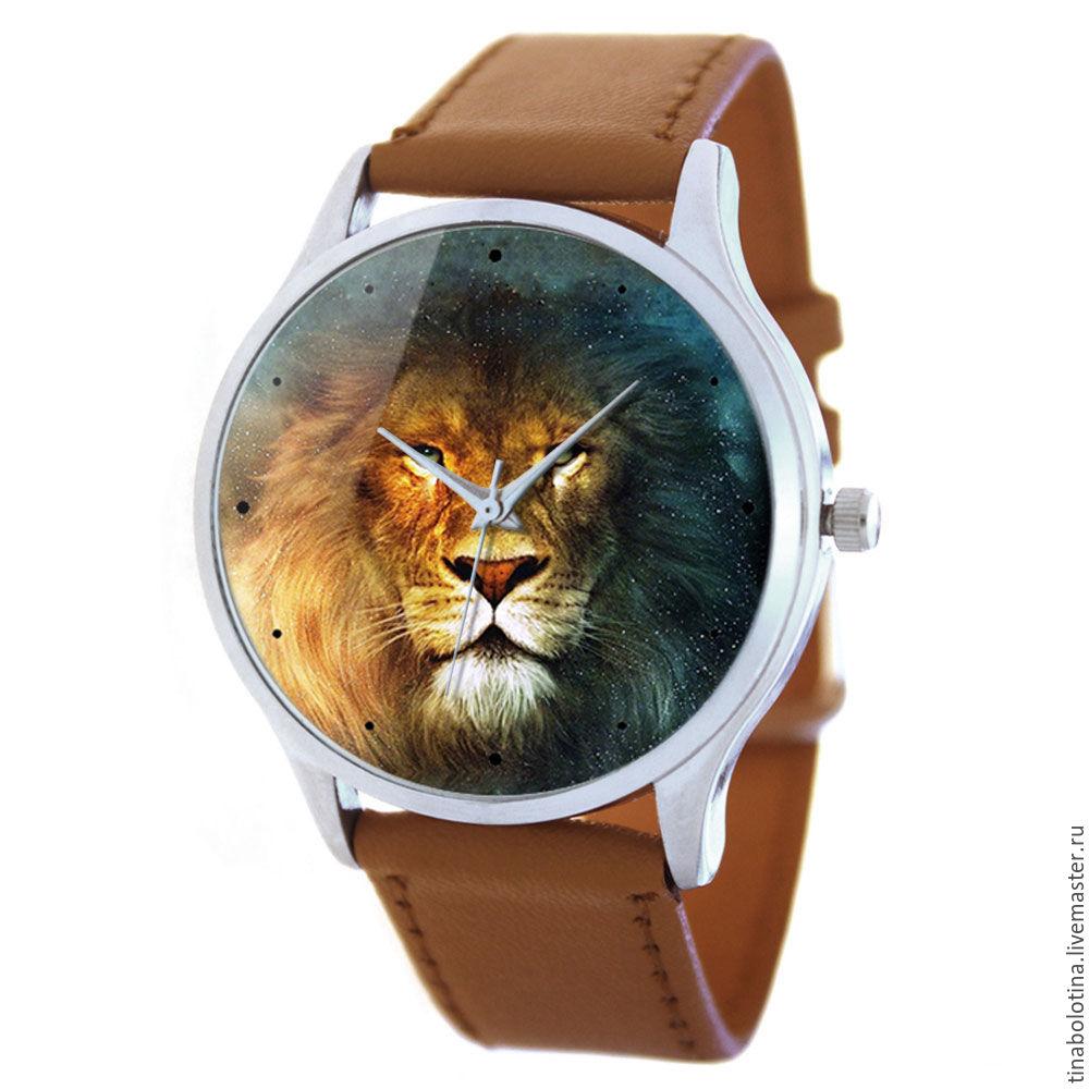 Часы ручной работы. Ярмарка Мастеров - ручная работа. Купить Дизайнерские наручные часы Leo Brown. Handmade. Дизайнерские украшения