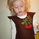 """Одежда для девочек, ручной работы. Детский сарафан """"Осень"""". Корчински Ольга. Интернет-магазин Ярмарка Мастеров. Рисунок, яркий сарафан"""