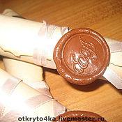 Свадебный салон ручной работы. Ярмарка Мастеров - ручная работа Старинный свиток с сургучной печатью. Handmade.