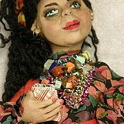 Куклы и пупсы ручной работы. Ярмарка Мастеров - ручная работа Цыганка. Handmade.