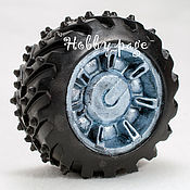 Материалы для творчества handmade. Livemaster - original item Silicone mold for soap Wheel Hummer. Handmade.