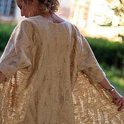 """Одежда ручной работы. Ярмарка Мастеров - ручная работа """"Над пропастью во ржи"""" Комплект платье и летнее пальто. Handmade."""