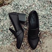 Обувь ручной работы. Ярмарка Мастеров - ручная работа Туфли Alexis. Handmade.