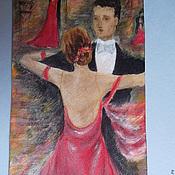 """Аксессуары ручной работы. Ярмарка Мастеров - ручная работа Галстук """"Танго"""". Handmade."""