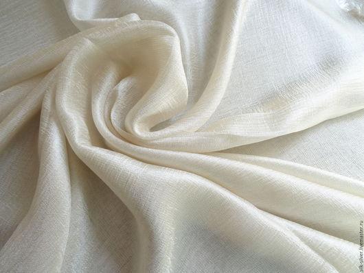 Шали, палантины ручной работы. Ярмарка Мастеров - ручная работа. Купить Палантин из итальянской ткани. Handmade. Ваниль, шарф женский