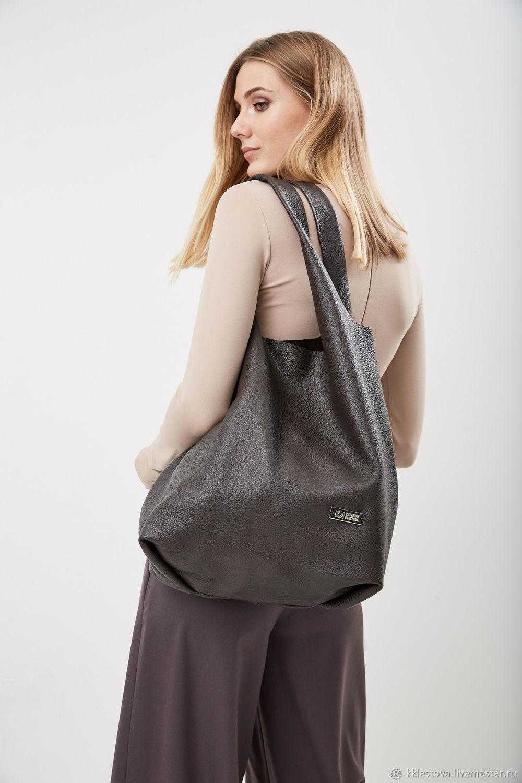 220f6847c247 Женские сумки ручной работы. Ярмарка Мастеров - ручная работа. Купить Мягкая  коричневая Сумка ...