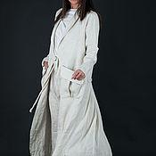 Одежда handmade. Livemaster - original item Summer linen vest by EUGfashion - VE0321LE. Handmade.
