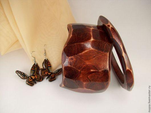 """Комплекты украшений ручной работы. Ярмарка Мастеров - ручная работа. Купить Украшения деревянные Комплект браслеты """"Грани природы"""" Бижутерия. Handmade."""