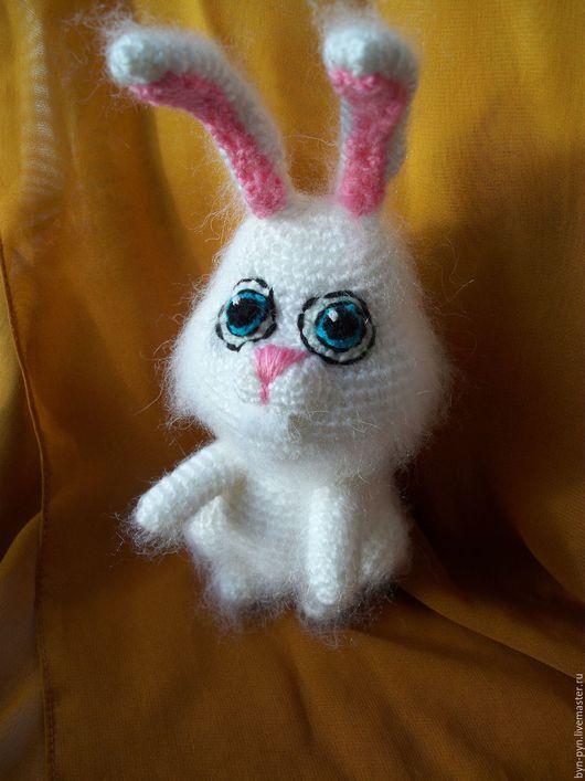 Игрушки животные, ручной работы. Ярмарка Мастеров - ручная работа. Купить Заяц Кролик Снежок Тайная жизнь домашних животных. Handmade.