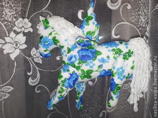 """Куклы Тильды ручной работы. Ярмарка Мастеров - ручная работа. Купить текстильная игрушка лошадка """"Весна"""". Handmade. Хлопок, самоделки"""