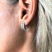 Русский стиль handmade. Livemaster - original item Alatyr earrings. Handmade.