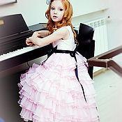 Работы для детей, ручной работы. Ярмарка Мастеров - ручная работа Pink! нарядное платье для девочки. Handmade.