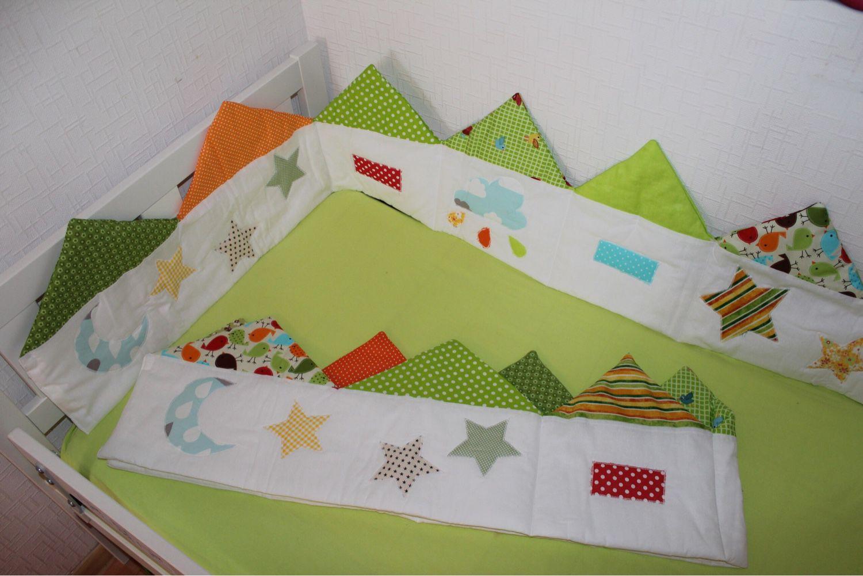 Шьем бортик-бампер в кроватку 71