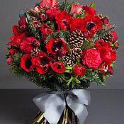 Цветы и флористика handmade. Livemaster - original item Winter bouquet