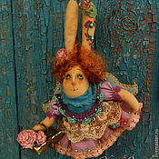 Куклы и игрушки ручной работы. Ярмарка Мастеров - ручная работа Матушка - зайчиха.. Handmade.