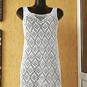 Одежда handmade. Livemaster - original item Dress tunic openwork for the beach. Handmade.