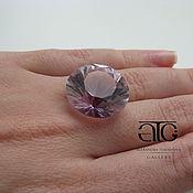 Материалы для творчества handmade. Livemaster - original item Large pale pink amethyst diamond cut! 36.15 Carat. Handmade.