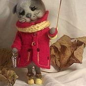 """Куклы и игрушки ручной работы. Ярмарка Мастеров - ручная работа Кошечка """"Феня"""". Handmade."""