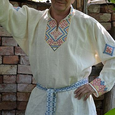 """Одежда ручной работы. Ярмарка Мастеров - ручная работа Рубашка """"Велес"""". Handmade."""