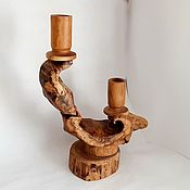 Для дома и интерьера handmade. Livemaster - original item Candle holder made of beech wood. Handmade.