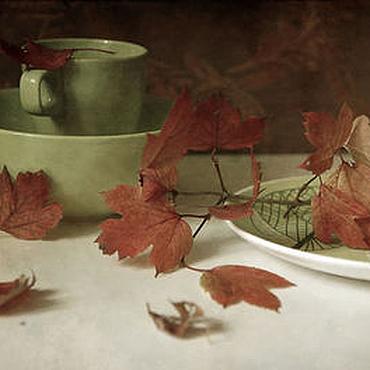 Картины и панно ручной работы. Ярмарка Мастеров - ручная работа Натюрморт фото, картина  Осенний каприз. Handmade.