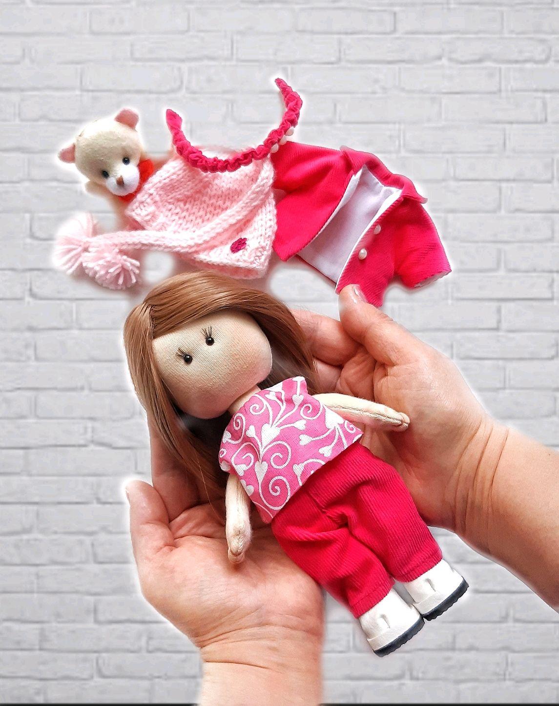 Текстильная кукла, Вальдорфские куклы и звери, Москва,  Фото №1