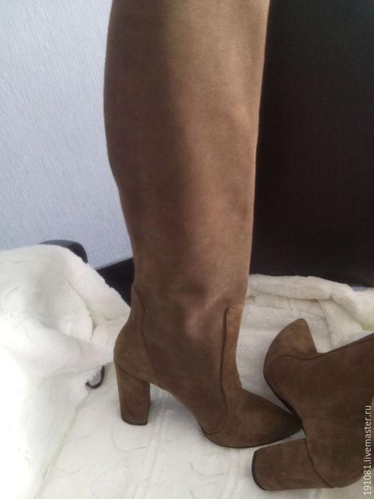Обувь ручной работы. Ярмарка Мастеров - ручная работа. Купить сапоги. Handmade. Разноцветный, зимняя обувь