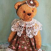 Куклы и игрушки ручной работы. Ярмарка Мастеров - ручная работа Мишка тедди Машенька. Handmade.