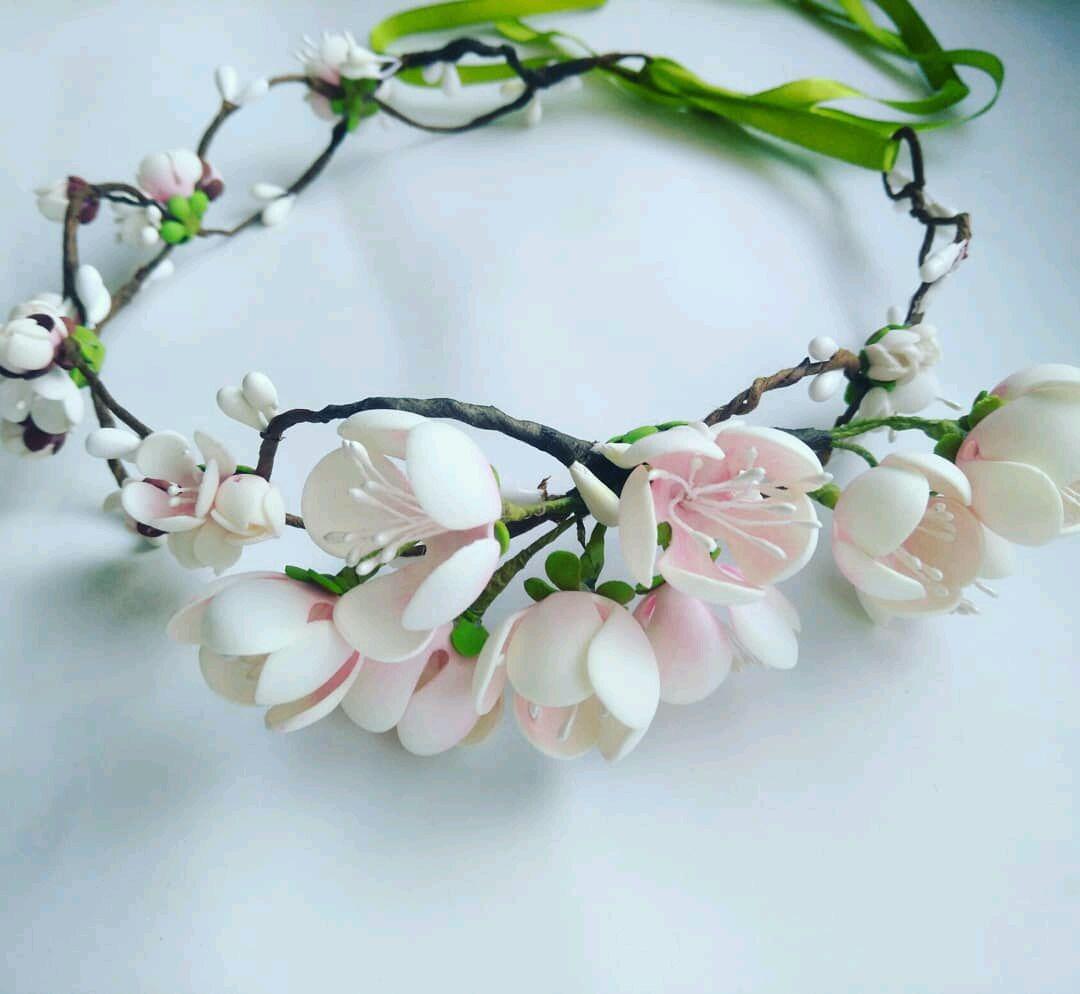 Венок для невесты. Когда сады цветут в душе, Аксессуары, Ростов-на-Дону,  Фото №1