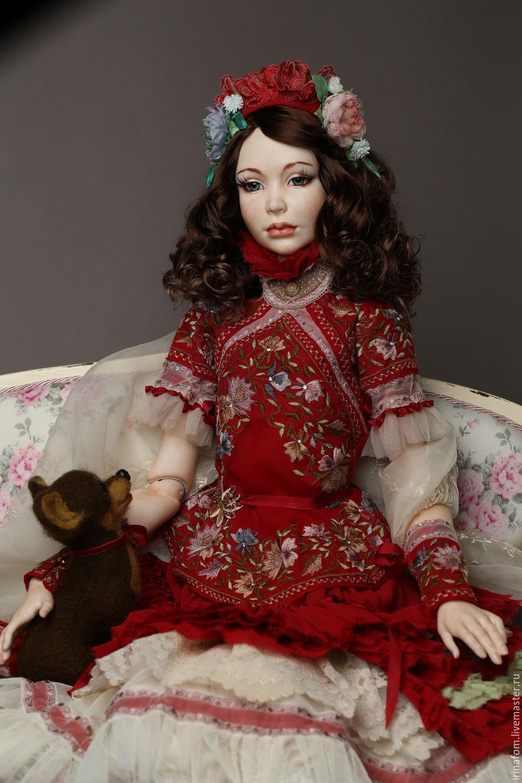 Большая шарнирная кукла Любовь 73 см, Шарнирная кукла, Санкт-Петербург,  Фото №1