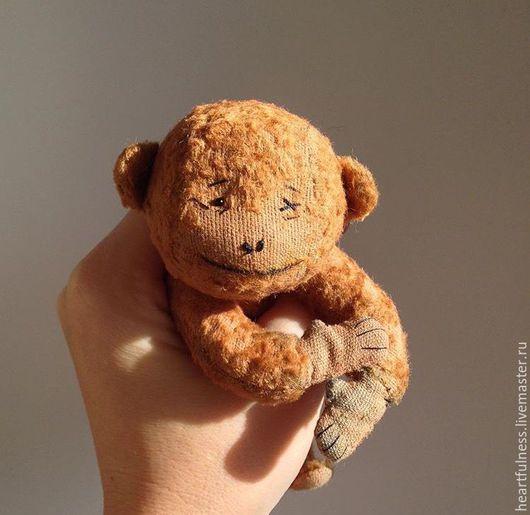 Мишки Тедди ручной работы. Ярмарка Мастеров - ручная работа. Купить Обезьянка Санни. Handmade. Оранжевый, новогодний подарок, мартышка