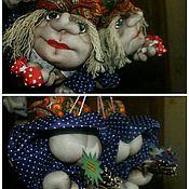 Куклы и игрушки ручной работы. Ярмарка Мастеров - ручная работа Попики - куколки на УДАЧУ. Handmade.