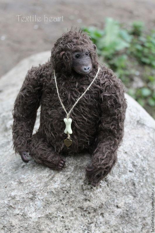 Мишки Тедди ручной работы. Ярмарка Мастеров - ручная работа. Купить King Kong. Handmade. Коричневый, обезьянка тедди, ооак