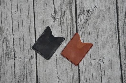 Органайзеры для сумок ручной работы. Ярмарка Мастеров - ручная работа. Купить Картхолдер. Handmade. Тёмно-синий, подарок, светло-коричневый