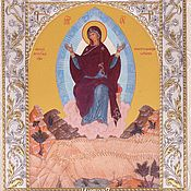 Русский стиль handmade. Livemaster - original item Sporitel`nitsa khlebov the icon of the virgin (14h18sm). Handmade.