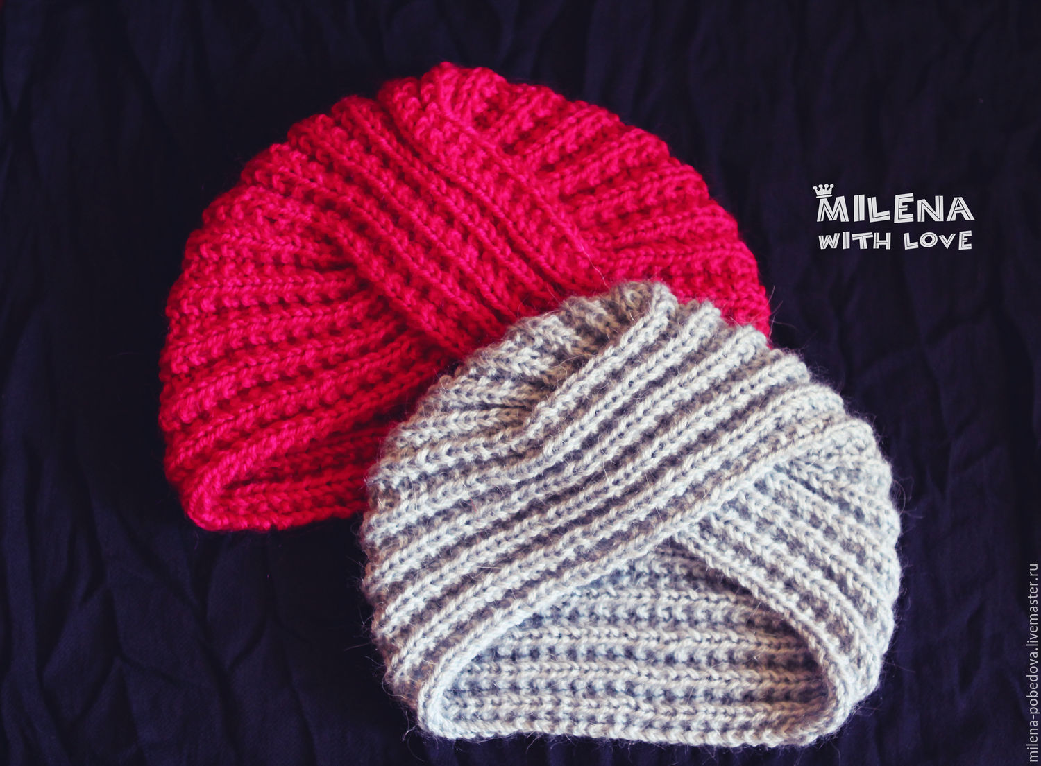 Knitted set for Moms and Daughters, Headwear Sets, Minsk,  Фото №1