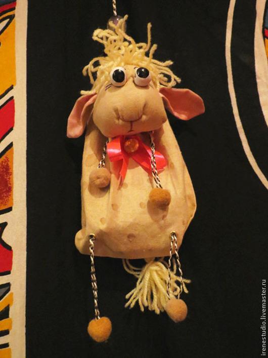 Персональные подарки ручной работы. Ярмарка Мастеров - ручная работа. Купить Мешочек для конфет в виде овечки. Handmade. Для детей