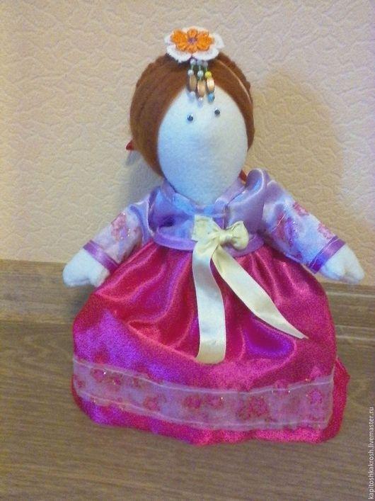 """Куклы тыквоголовки ручной работы. Ярмарка Мастеров - ручная работа. Купить Кукла """"Чен"""" интерьерная. Handmade. Комбинированный, кукла интерьерная"""