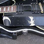 Аксессуары handmade. Livemaster - original item strap for electric guitar