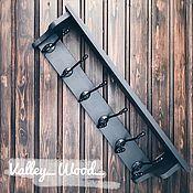 Для дома и интерьера handmade. Livemaster - original item Wall hanger from wood. Handmade.