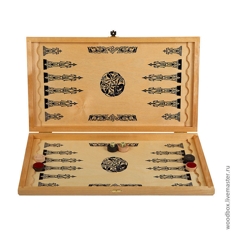 A great gift for the man! Backgammon-checkers-chess game 3 in 1, Chess, Moscow,  Фото №1