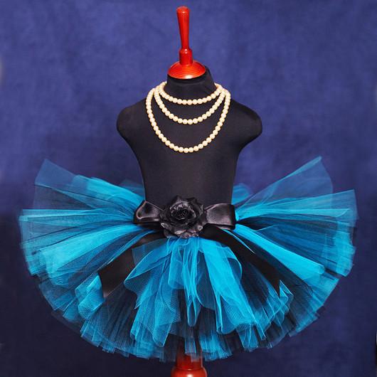 """Одежда для девочек, ручной работы. Ярмарка Мастеров - ручная работа. Купить """"Лесное озеро"""" пышная юбка-пачка из фатина. Handmade."""