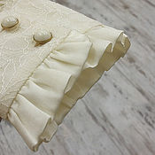 """Одежда ручной работы. Ярмарка Мастеров - ручная работа Блузка из натурального шелка """"Ванильное небо"""". Handmade."""