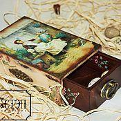 Для дома и интерьера handmade. Livemaster - original item Box for trifles
