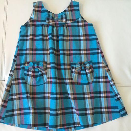 Одежда для девочек, ручной работы. Ярмарка Мастеров - ручная работа. Купить Сарафан. Handmade. Сарафан для девочки, красивая одежда