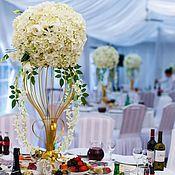 Свадебный салон ручной работы. Ярмарка Мастеров - ручная работа Цветочные вазы. Handmade.