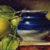 Картины и панно ручной работы. Ярмарка Мастеров - ручная работа Натюрморт с лимонами. Handmade.