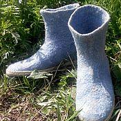 """Обувь ручной работы. Ярмарка Мастеров - ручная работа Валяные сапожки """"Лето"""". Handmade."""